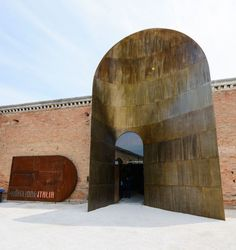 The Italian Pavilion at the International Architecture Exhibition in Venice realised by De Castelli in collaboration with Cino Zucchi. Architecture Details, Modern Architecture, Property Buyers, Adaptive Reuse, Urban Loft, Urban Industrial, Metal Buildings, Built In Storage, Kirchen