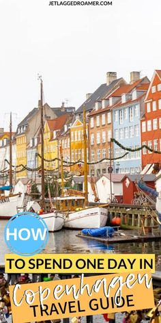 Only have one day in Copenhagen? No problem! Here is the guide to know where are the best places to see and eat during your in Copenhagen. Top Travel Destinations, Europe Travel Tips, European Travel, Travel Guides, Budget Travel, Denmark Europe, Denmark Travel, Norway Travel, Stockholm Shopping