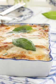 Supersimpele vega lasagne met courgette
