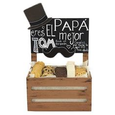 Proyectos |Galletero para el mejor papá Baby Gift Hampers, Father's Day Celebration, Daddy Day, 60th Birthday Party, Father Birthday, Surprise Box, Ideas Para Fiestas, Fathers Day Gifts, Baby Gifts
