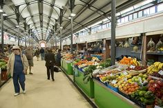 Praca_loule, Loule Market, Algarve, Portugal by - Serafin -, via Flickr
