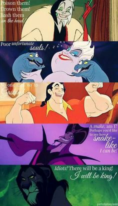 Disney Villains Quotes (part 2)