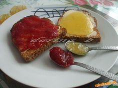 Cuketový džem s ananásom a džem miš-maš
