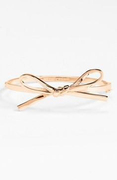 LOVE this Bow bangle