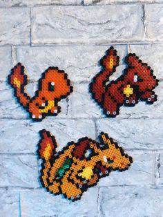 Wanddeko - Wandsticker, Pokemon, Glumanda, Glutexo, Glurak - ein Designerstück von Astrid-Zauberstuebchen bei DaWanda