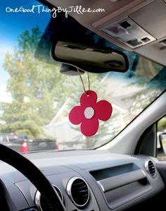 homemade car air fresheners 7