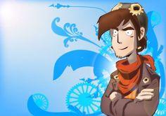 Rufus Deponia Vector by Lalingla on DeviantArt Social Community, Disney Characters, Fictional Characters, Digital Art, Deviantart, Disney Princess, Gallery, Illustration, Artist