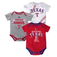 Texas Rangers Baby Clothes Rangers Baby Girl Rangers Game Day Outfit TX Rangers Baby Girl Romper