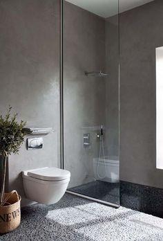 Groutless shower ideas - Katrina Chambers