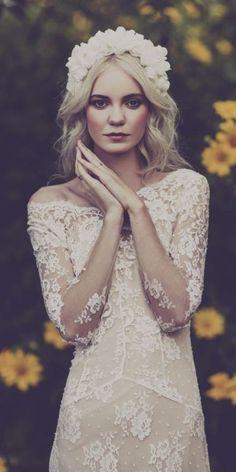 Wedding dress idea; Featured Photographer: Swoon Weddings