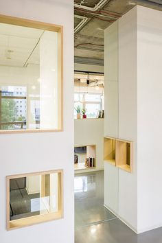 house-like office cubicles Decerto by MFRMGR
