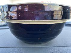 1940's Vintage Brown Pottery mixing bowl Love List, Pottery, Brown, Tableware, Vintage, Ceramica, Dinnerware, Pottery Marks, Tablewares