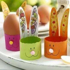 Tavşan kaç ... Paper Bunny, Felt Bunny, Cute Bunny, Easy Paper Crafts, Diy Paper, Egg Decorating, Ovo, Crafts For Kids, Easter Crafts