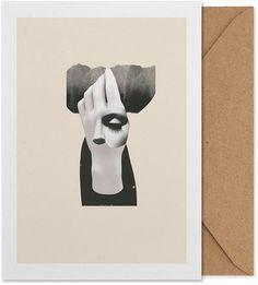 Salut 01 Art Card by Mariken Steen. Buy art card at https://paper-collective.com/product/salut-01-art-card/ #papercollective #design #artcard #card #postcard #artprint #print #poster #illustration #drawing # homedecor #decor #wallart