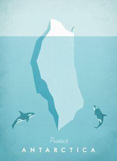 Henry Rivers, el ilustrador de la colección de carteles de viaje minimalistas. #ilustración #poster