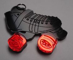 The best roller derby necklace/charm ever! Love Fabrication Unlimited!