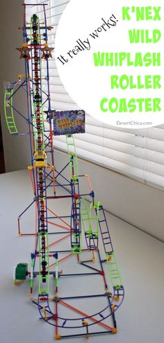 Need an engaging and fun toy this holiday season? The K'NEX Wild Whiplash Roller Coaster is a great idea for kids ages 9 and older. #WildWhiplash #ad