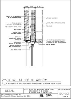 window head detail brick - Google Search