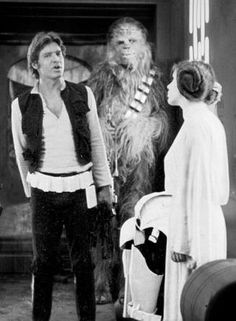 Look's like Han may have a itch.
