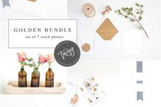 Set of Mockups & Images for Blogs by TwigyPosts on @creativemarket