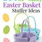 100 Easter Basket Stuffer Ideas (No Candy)