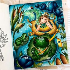 Coloring Books, Coloring Pages, Markova, Posca, Color Combos, Enchanted, Doodles, Fairy, Photo And Video