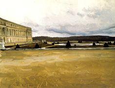 watercolor Alexandre Benois (1870-1960)  Versailles, 1906