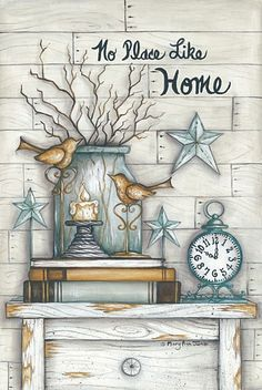 no place like home- Mary Ann June