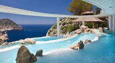 Hotel Hacienda Na Xamena, Ibiza #swimmingpool