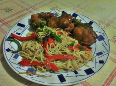 Chinese Food for Thought: General Tso's Chicken and Stir Fry Noodles