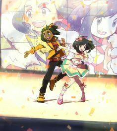 Pokemon Contest Hau and Moon
