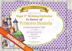 Princess Sofia Greeting Card PC041