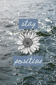 Positive thoughts produce positive results.
