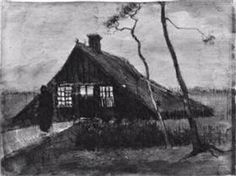 Farmhouse at Night (Vincent van Gogh)