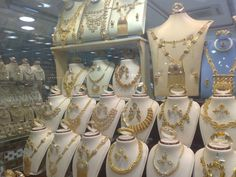 Gold Souk, Jeddah, Saudi Arabia (I visited a few of these when I lived in Jeddah; Jeddah Saudi Arabia, Gold Souk, Bicycle Bag, Travel Set, Practical Gifts, Hair And Beard Styles, Gold Jewelry, Jewellery, How To Look Pretty
