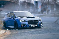 ArtStation - Subaru WRX coupe, Rain Prisk