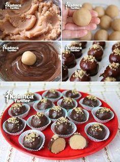 Çikolata Kaplı Un Helvası Tarifi