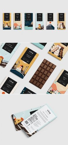 Take A Peek At These Cityscape Themed Chocolate Bars — The Dieline | Packaging & Branding Design & Innovation News