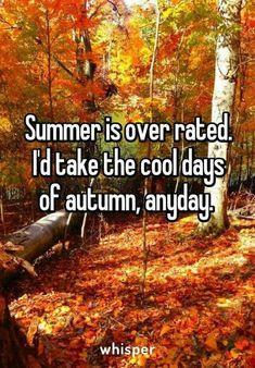 Wonderful Summer   Fall/Autumn Nice Ideas