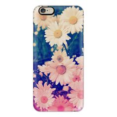 iPhone 6 Plus/6/5/5s/5c Case - Cool Girly Cute Vintage Grunge Ombre... ($40) ❤ liked on Polyvore featuring accessories, tech accessories, iphone case, iphone cover case, floral iphone case, apple iphone cases and pink iphone case