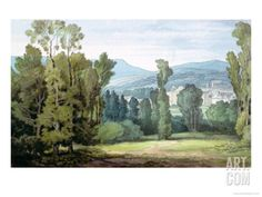 Dulverton, Somerset, 1800 Giclee Print by John White Abbott at Art.com