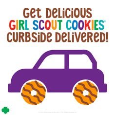 Girl Scout Cookie Sales, Brownie Girl Scouts, Girl Scout Cookies, Girl Scout Swap, Girl Scout Troop, Troop Beverly Hills, Girl Scout Activities, Interactive Posts, Daisy Girl Scouts