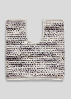 Add colour and texture to your bathroom with our chunky bobble pedestal mat, featuring natural coloured mottled designs and a luxurious raised bobble pile. Super soft and absorbent, it has been woven for superior quality. Minimalist Bathroom, Crochet Top, Texture, Color, Natural, Design, Surface Finish, Colour