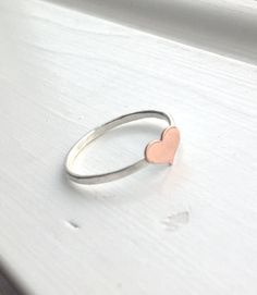 Hey, I found this really awesome Etsy listing at https://www.etsy.com/listing/194081423/heart-ring-small-heart-ring-tiny-heart