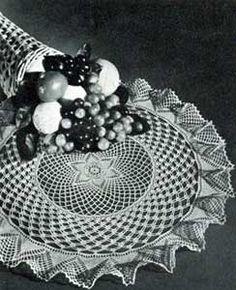 Setting Sun Doily S-892 | Crochet Patterns