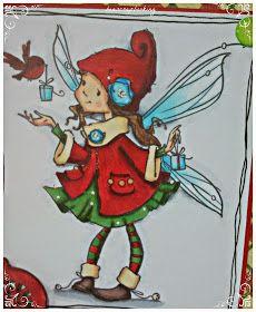 Beascrapbooking: TARJETAS- RECETAS NAVIDAD CON SELLOS SUGAR NELLIE Christmas Fairy, Christmas Home, Christmas Cards, Fairy Drawings, Cute Drawings, Spectrum Noir, Digi Stamps, Christmas Printables, Clipart