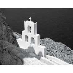 """Cliffside Bells, Santorini"""