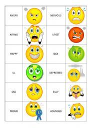 English worksheet: Emotions