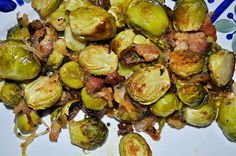 Dijon Bacon Brussel Sprouts