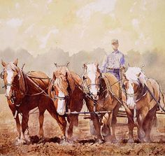 The Brown Team by Joe Barbieri was awarded Outstanding Watercolor in the April 2013 BoldBrush Painting Competition.